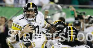Steelers winning Super Bowl XLIII