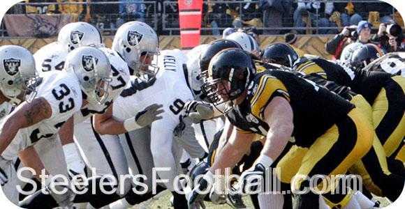 Raiders at Steelers Week 9